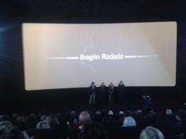 Presentación estreno Aragón Rodado cines Aragonia